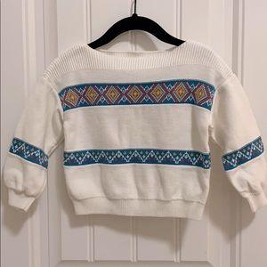 Gymboree boho  baby sweater